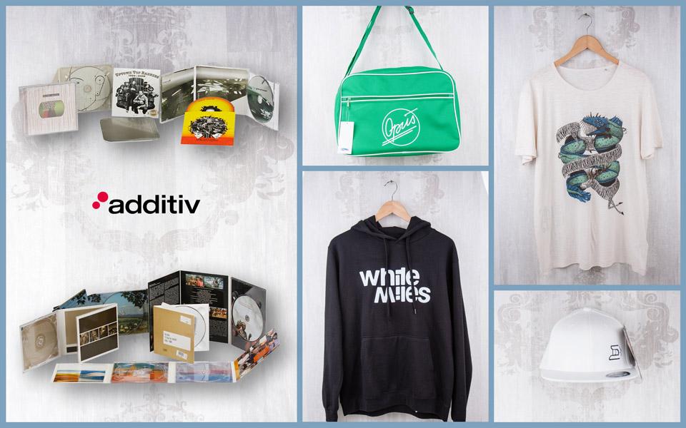 additiv media - vinyl, merchandising, print
